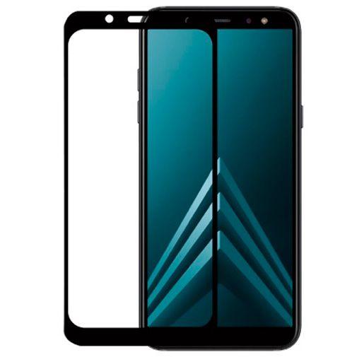 Productafbeelding van de ScreenArmor Glass Armor Regular Screenprotector Black Samsung Galaxy A6