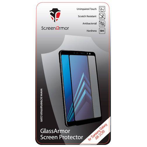 Productafbeelding van de ScreenArmor Glass Armor Regular Screenprotector Black Samsung Galaxy A8 (2018)