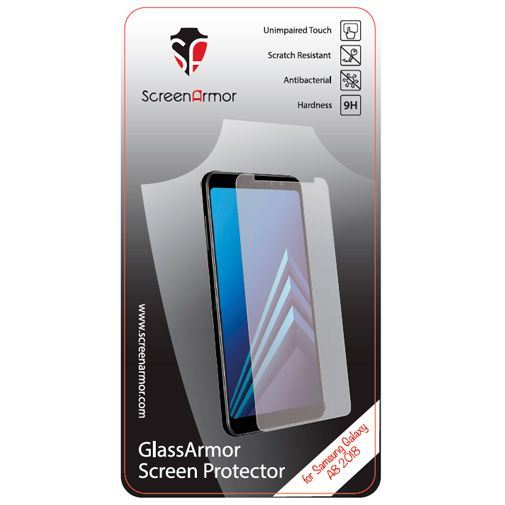 Productafbeelding van de ScreenArmor Glass Armor Regular Screenprotector Transparent Samsung Galaxy A8 (2018)