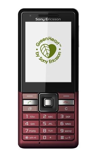 Sony Ericsson Naite Red