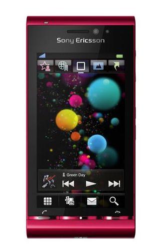 Sony Ericsson Satio Bordeaux