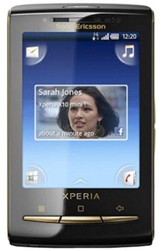 Sony Ericsson X10 Mini Gold