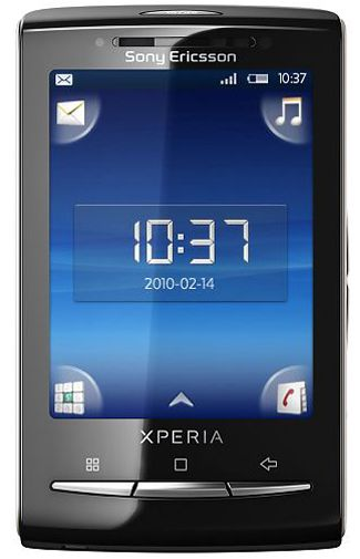 Sony Ericsson X10 Mini White Red
