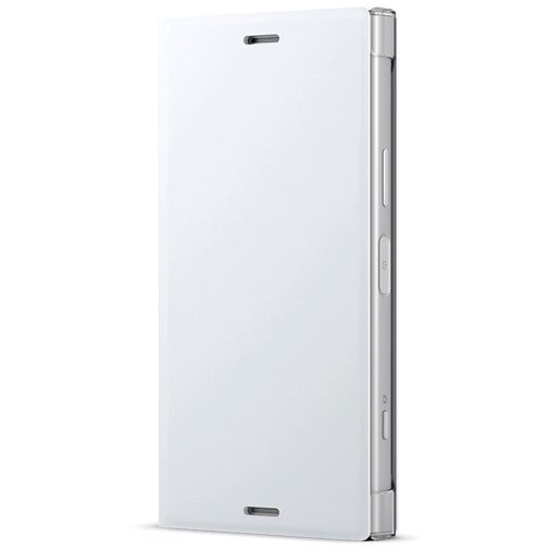 Sony Style Cover Stand SCSG60 White Xperia XZ1 Compact
