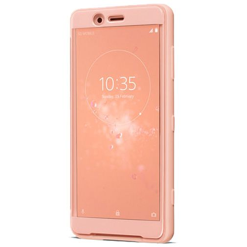 newest collection 1bd38 37868 Sony Style Cover Touch SCTH50 Pink Xperia XZ2 Compact