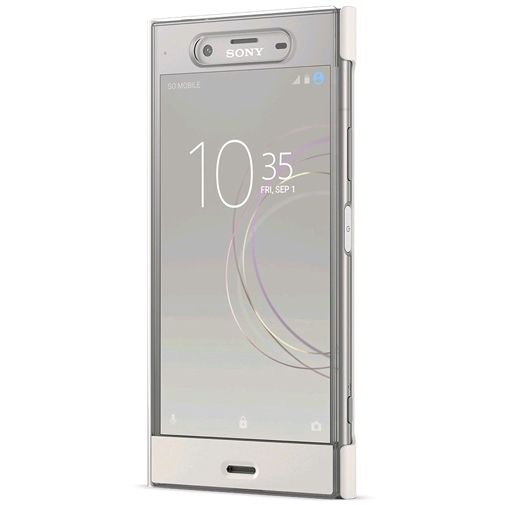 Sony Style Cover Touch SCTG50 Silver Xperia XZ1