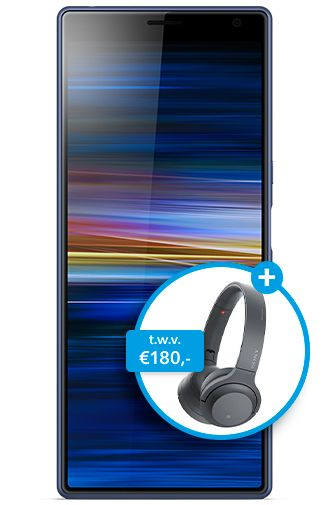 Productafbeelding van de Sony Xperia 10 Plus Blue