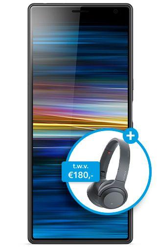 Productafbeelding van de Sony Xperia 10 Plus Black