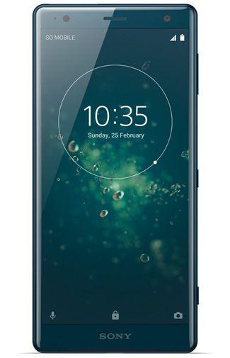 Productafbeelding van de Sony Xperia XZ2 Single Sim Green
