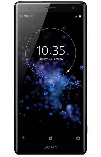 Productafbeelding van de Sony Xperia XZ2 Single Sim Black