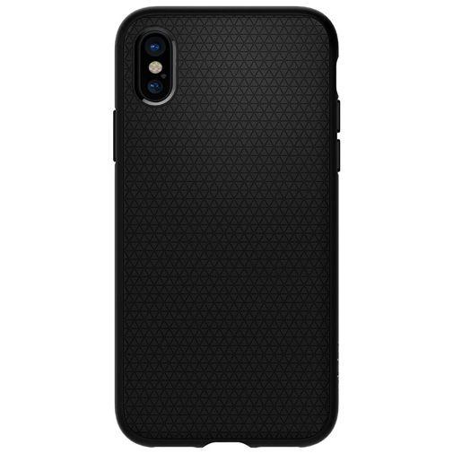 Spigen Liquid Air Case Matt Black Apple iPhone X