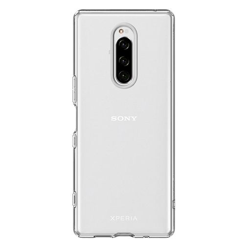 Productafbeelding van de Spigen Liquid Crystal Case Clear Sony Xperia 1