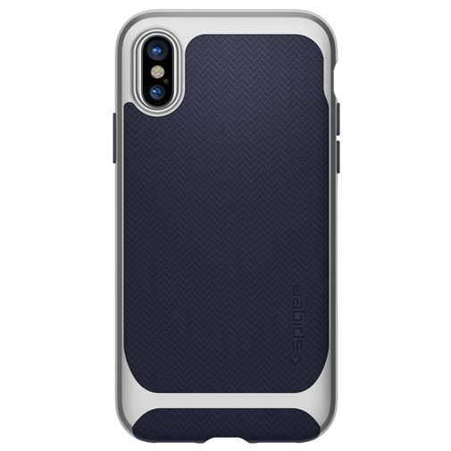 Spigen Neo Hybrid Case Silver Apple iPhone X
