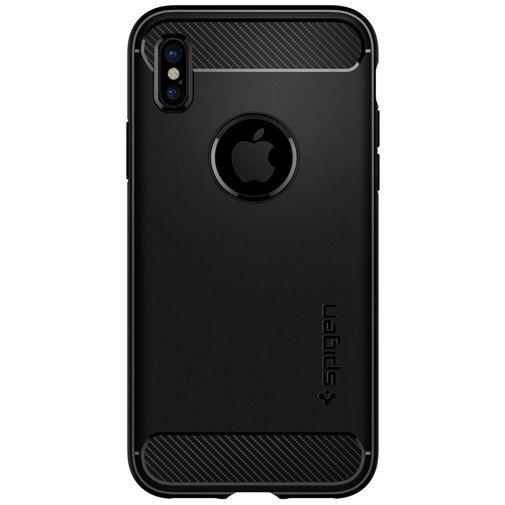 Spigen Rugged Armor Case Matt Black Apple iPhone X