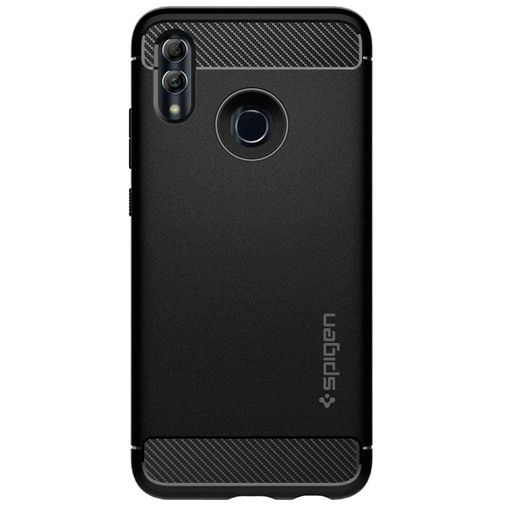 Productafbeelding van de Spigen Rugged Armor Case Black Huawei P Smart (2019)/Honor 10 Lite