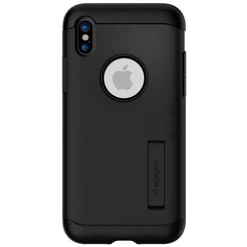 Spigen Slim Armor Case Black Apple iPhone X