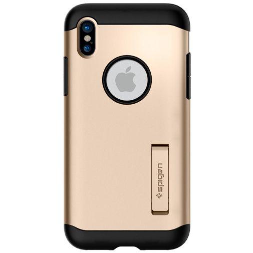 Spigen Slim Armor Case Gold Apple iPhone X