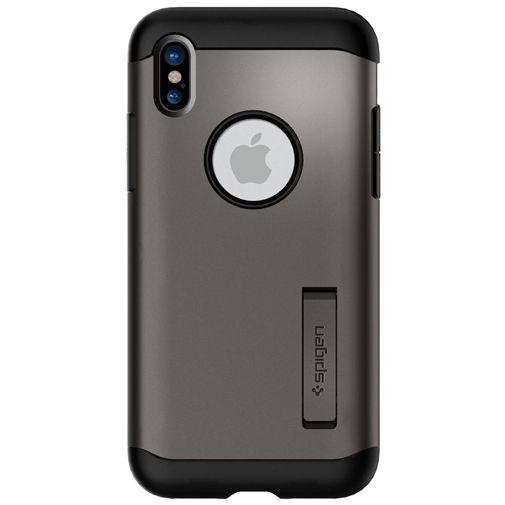 Spigen Slim Armor Case Grey Apple iPhone X