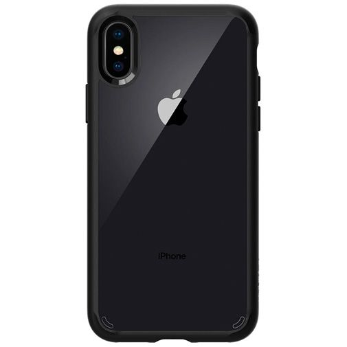 Spigen Ultra Hybrid Case Matt Black Apple iPhone X