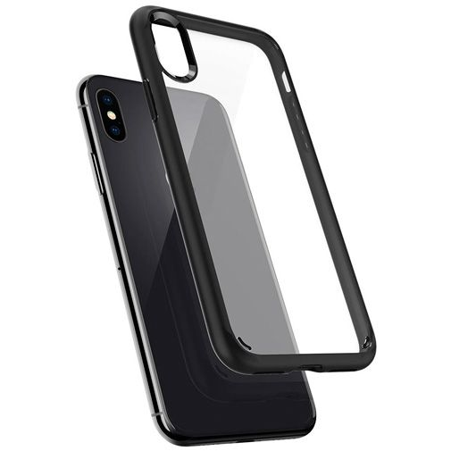 Spigen Ultra Hybrid Case Matt Black Apple iPhone X