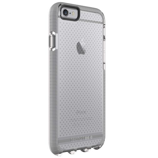 Tech21 Evo Mesh Case Clear Grey Apple iPhone 6/6S