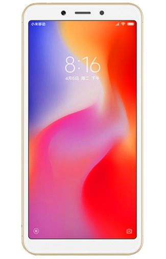 Productafbeelding van de Xiaomi Redmi 6 64GB Gold