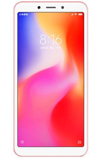 Productafbeelding van de Xiaomi Redmi 6A 16GB Rose Gold