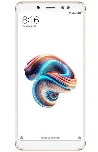 Productafbeelding van de Xiaomi Redmi Note 5 64GB Gold