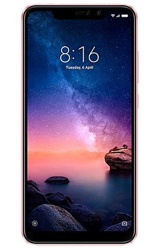 Productafbeelding van de Xiaomi Redmi Note 6 Pro 32GB Rose Gold
