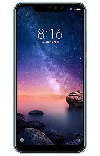 Productafbeelding van de Xiaomi Redmi Note 6 Pro 64GB Blue