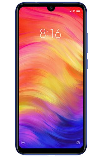 Productafbeelding van de Xiaomi Redmi Note 7 128GB Blue