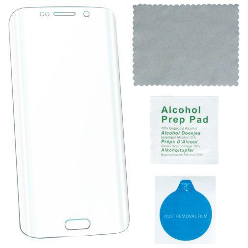 Productafbeelding van de 4smarts Second Glass Curved Screenprotector Samsung Galaxy S6 Edge Plus