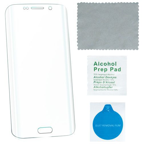 Productafbeelding van de 4smarts Second Glass Curved Screenprotector Transparent Samsung Galaxy S7 Edge