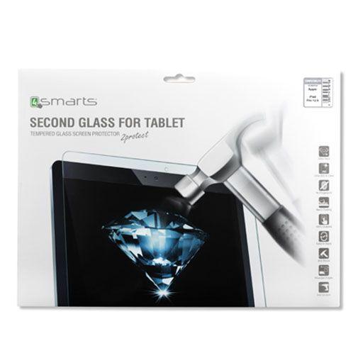 Productafbeelding van de 4smarts Second Glass Screenprotector Apple iPad Pro 12.9