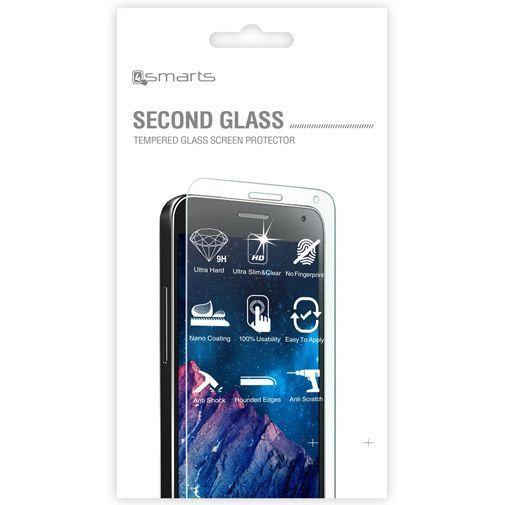 Productafbeelding van de 4smarts Second Glass Screenprotector Motorola Moto G4