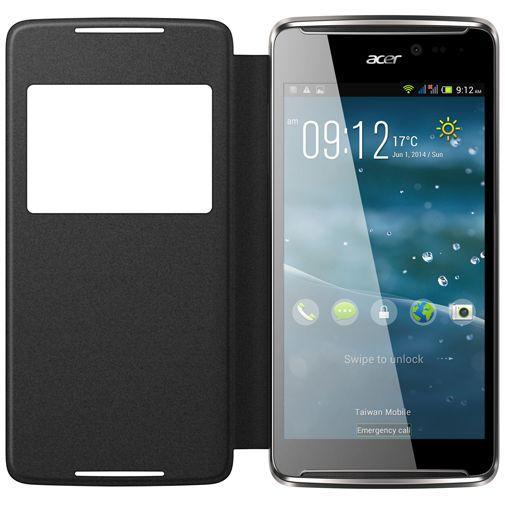 Productafbeelding van de Acer Active Flip Case Grey Liquid E600