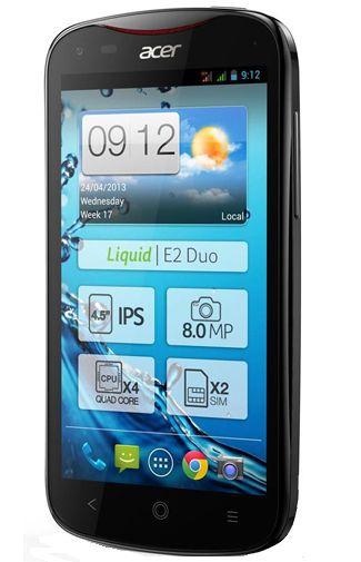 Productafbeelding van de Acer Liquid E2 Duo Black