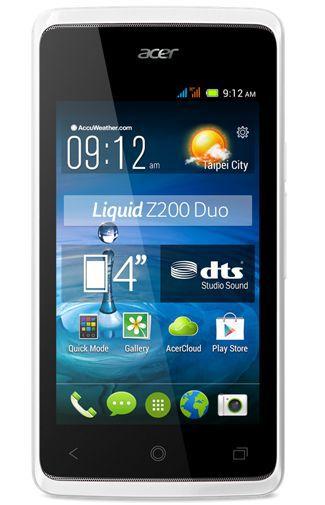 Productafbeelding van de Acer Liquid Z200 Duo White