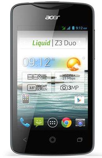 Productafbeelding van de Acer Liquid Z3 Duo Black