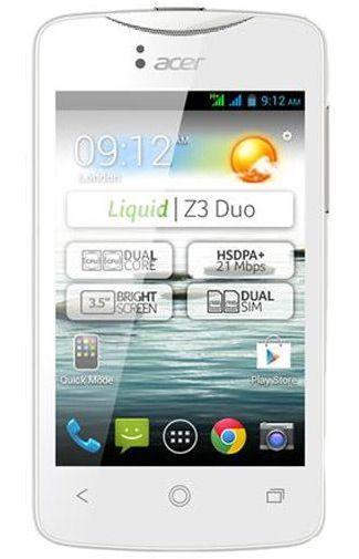 Productafbeelding van de Acer Liquid Z3 White