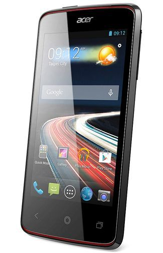Productafbeelding van de Acer Liquid Z4 Duo Black