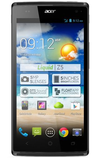 Productafbeelding van de Acer Liquid Z5 Grey Duo
