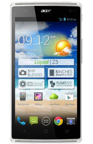 Productafbeelding van de Acer Liquid Z5 White Duo