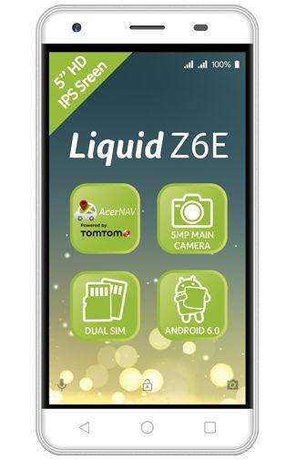 Productafbeelding van de Acer Liquid Z6E Duo White