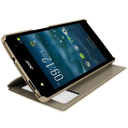 Productafbeelding van de Acer Quick View Flip Case Silver Liquid E3