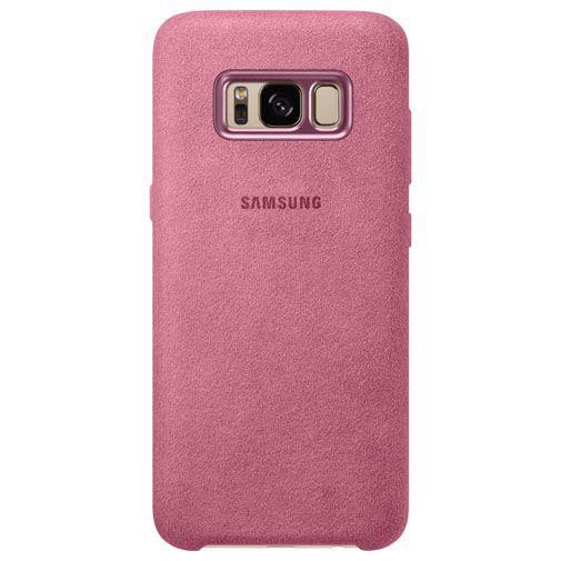 Productafbeelding van de Samsung Alcantara Back Cover Pink Galaxy S8