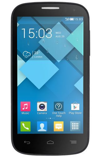 Productafbeelding van de Alcatel OneTouch 5036X Pop C5 Dark Grey