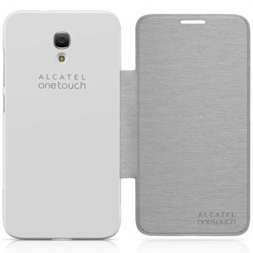 Productafbeelding van de Alcatel Flip Case Silver OneTouch Idol 2 S