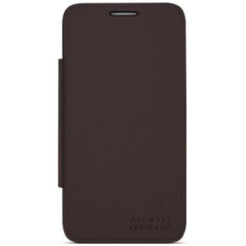 Productafbeelding van de Alcatel Flip Cover Brown OneTouch Pop D5