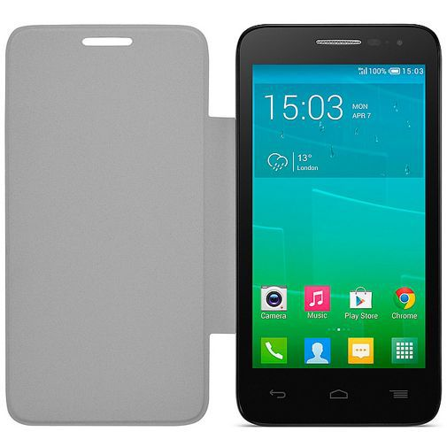Productafbeelding van de Alcatel Flip Cover White OneTouch Pop D5